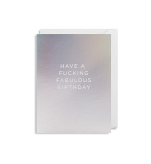 Fucking Fabulous Birthday Mini|Lagom Design