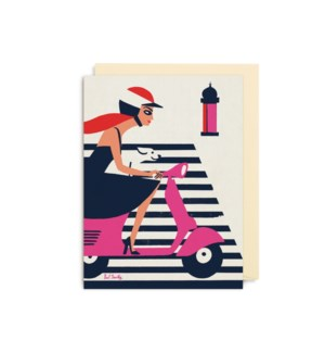 MINI CARD-Vespa|Lagom Design