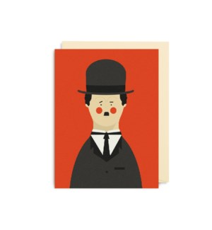 MINI CARD-Charlie Chaplin|Lagom Design