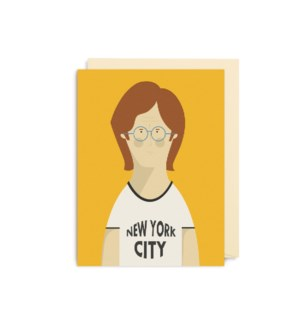 MINI CARD-John Lennon|Lagom Design