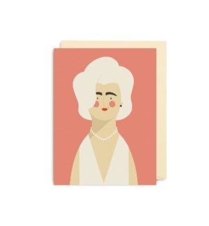 MINI CARD-Marilyn Monroe|Lagom Design