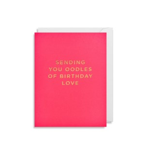 MINI CARD-Birthday Love|Lagom Design