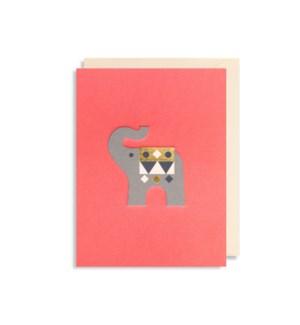 MINI CARD Elephant|Lagom Design