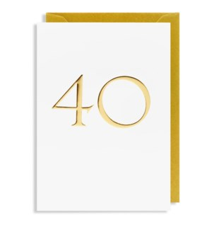 Gold 40 4.25x6 |Lagom Design