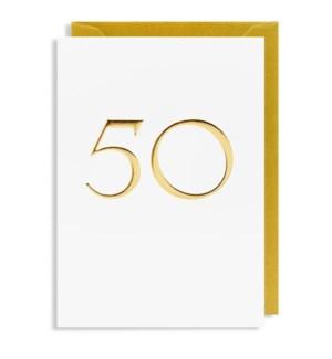 Gold 50 |Lagom Design