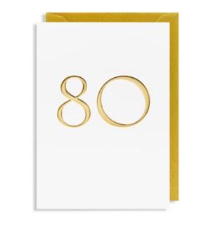 Gold 80 4.25x6 |Lagom Design