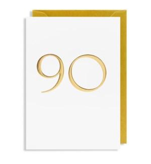 Gold 90 4.25x6 |Lagom Design