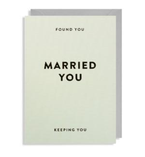 Found You Married You|Lagom