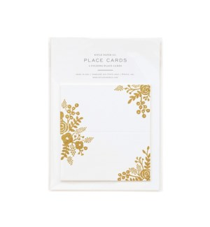 Pack of 8 Gold Lace Place Cards