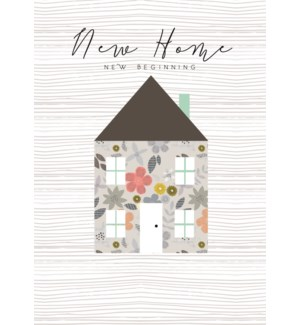 New Home New Beginning 5x7|Laura Darrington