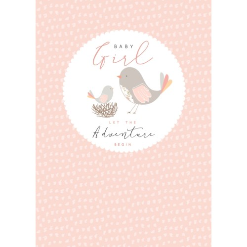 Baby Girl Adventure 5x7|Laura Darrington