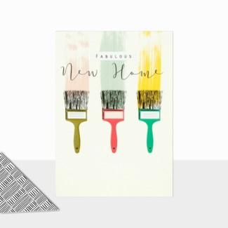 Paint Brushes 5x7 Laura Darrington