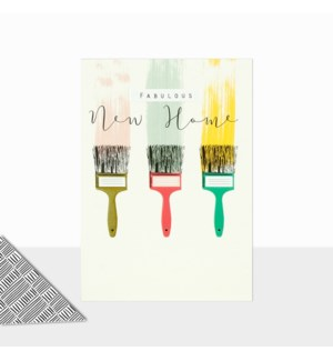 Paint Brushes 5x7|Laura Darrington