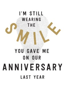 Anniversary Smile|Ling Design