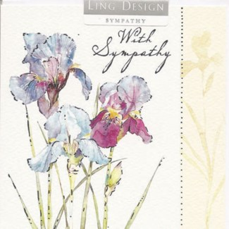 With sympathy lilies 4x4|Ling Design