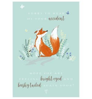 Bright Eyed And Bushy Tailed 5x7|Ling Design