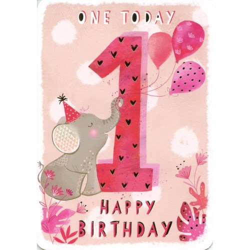 One Today Pink 5x7|Ling Design