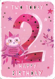 Two Today Pink 5x7|Ling Design