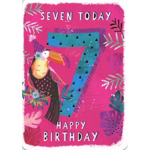 Seven Today Pink 5x7|Ling Design