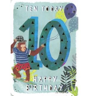 Ten Today Blue|Ling Design