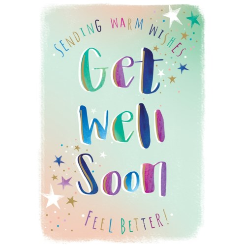Get Well Soon 5x7|Ling Design