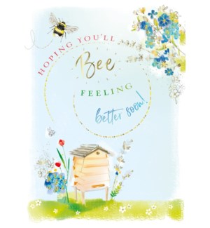 Bee Better Soon 5x7|Ling Design