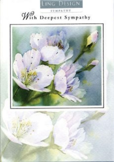 White floral 5x7|Ling Design