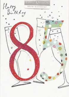 85th birthday 5x7|Ling Design