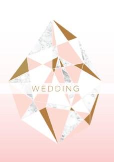 Marble Wedding 5x7|Ling Design