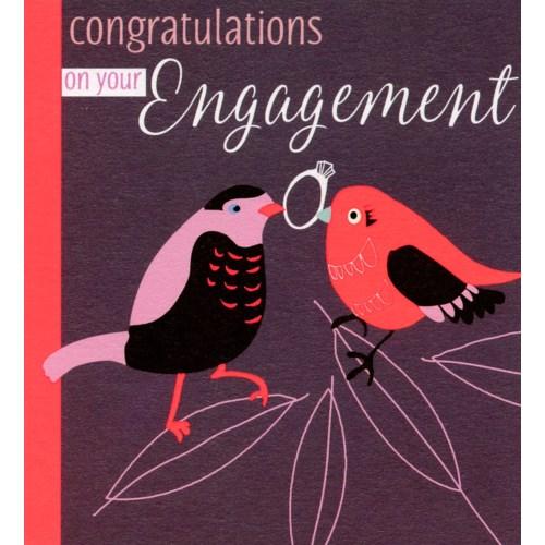 Engagement Birds 4.75x5.25 Liz and Pip