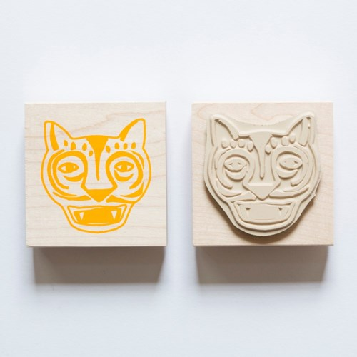 Individual Loose Stamp - Tiger