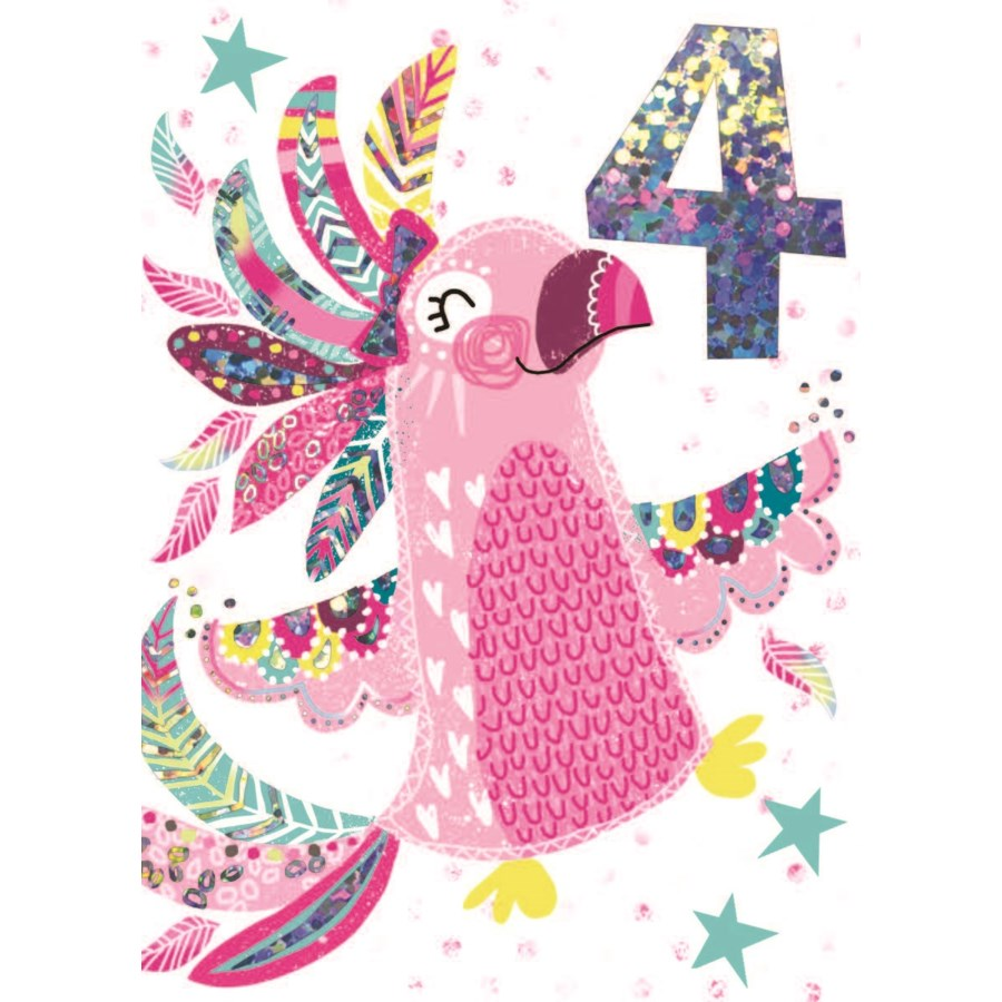 Tropical Candy Parrot 4 4.5 x 6.25|Lola