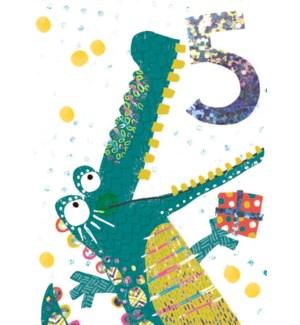 Tropical Candy Alligator 5 4.5 x 6.25|Lola