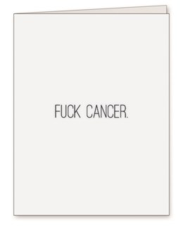 Fuck Cancer 4.25x5.5|Middle Child Made