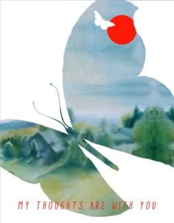 Butterfly 4.25x5.5|Masha Dyans