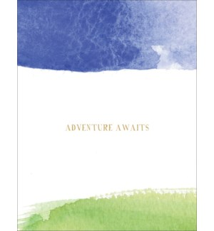 Adventure Awaits|E Frances Paper