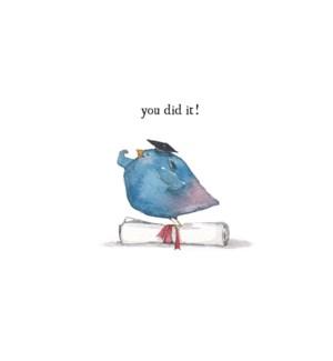 You Did It|E Frances Paper