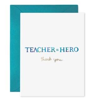 Teacher Hero|E Frances Paper