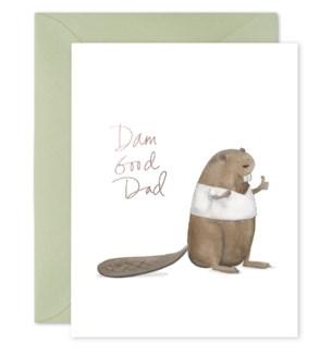 Dam Good Dad 4.25x5.5 |E Frances Paper