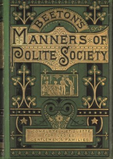 Manners Of Polite Society