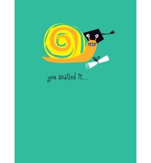 You Snailed It|Great Arrow