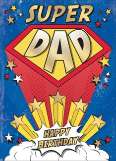 Super Dad 5x7 |Museums Galleries