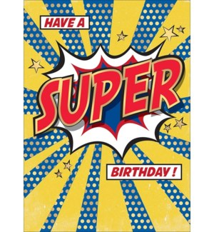 Super Birthday 5x7 |Museums Galleries