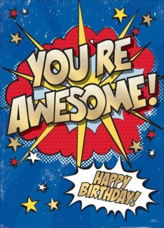 Youre Awesome 5x7 |Museums Galleries