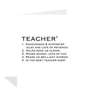 Teacher Definition|Halfpenny
