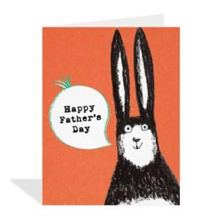 Rabbit Father Day 4.25x5.5|Halfpenny