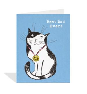 Best Dad Ever Cat|Halfpenny