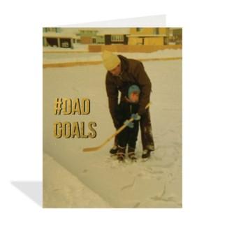 Dad Goals 4.25x5.5 |Halfpenny