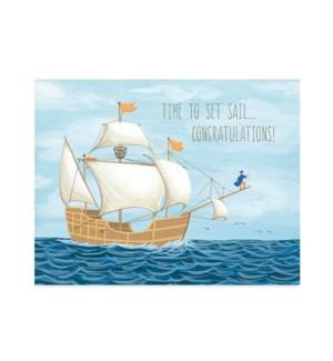 Ship At Sea|Halfpenny