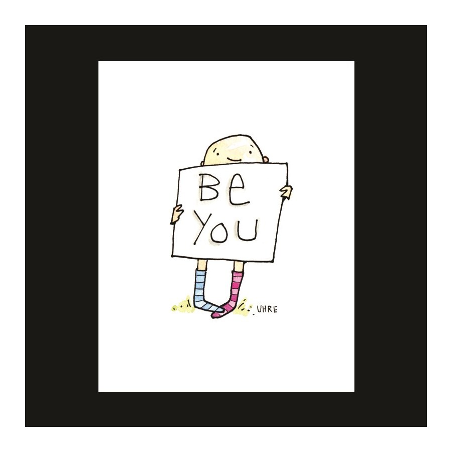 BTQ Be Yourself 5.5 x 4.5|Mark It Proud